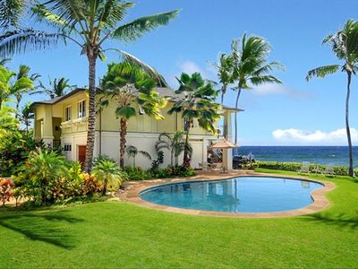 Hale A Kai, Luxury Oceanfront Poipu Vacation Home with Pool