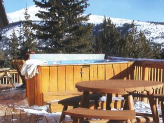 Breckenridge house photo - Picnic or read amid nature's amphitheater (just don't feed the wildlife)