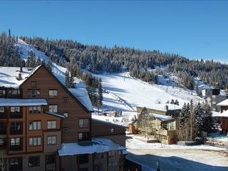 Winter Park condo photo - Enjoy the view of the slopes from south facing deck