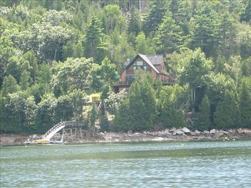 View of property from the waters of Somes Sound