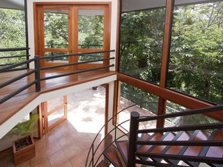 Manuel Antonio villa photo - View from top floor to downstairs in Casa Luz