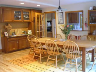 Wiscasset house photo - Dining area from another angle