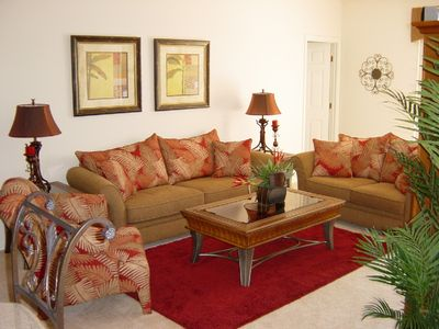 The Spacious and Comfortable Family Room