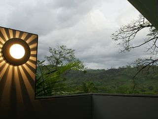 Nicoya house photo - View at dusk from the shower