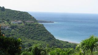 Montserrat villa photo - View from Balcony of Isles Bay, Belham Valley and Bransby Point in the distance