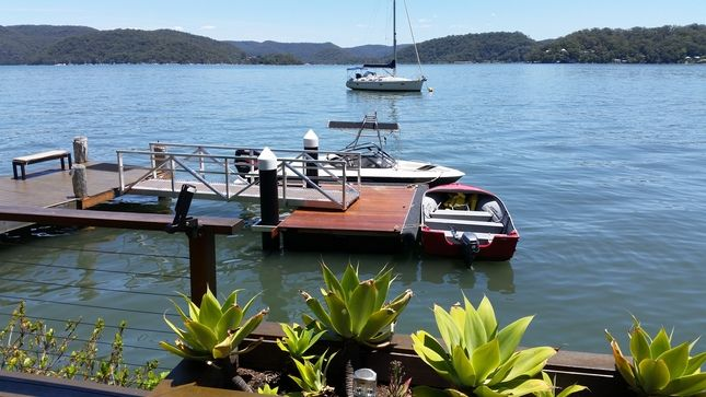 Turners River House Hawkesbury River .WOBBY BEACH