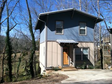 Asheville house rental - New construction, 2 car spaces in the drive, just blocks away from the park
