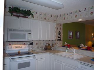 Windy Hill condo photo - Great kitchen with all appliances & washer/dryer