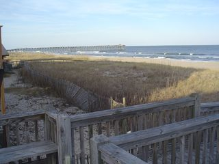 Kure Beach house photo - View from 3rd Deck of Atlantic Ocean