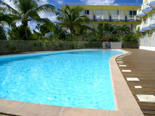 Marigot condo photo - A private swimming pool with fresh water at the rear of the residence.
