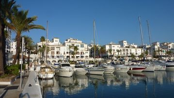 The Port at Duquesa 1km from the Apartment