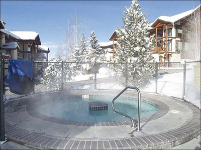 Large Outdoor Hot Tub