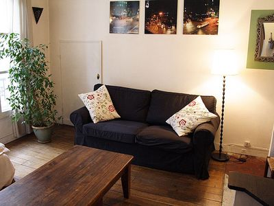 6th Arrondissement St Germain des Pres apartment rental - Living room