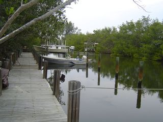 Don Pedro Island condo photo - Use of a private boat slip just off intracoastal