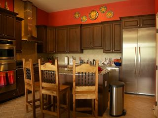 Ruidoso condo photo - Gourmet kitchen-granite counters, full pantry, oven, warming drawers, gas stove