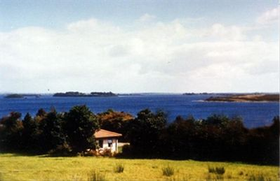 THE Cottage Enjoys Magnificent Views Of Lough Corrib.