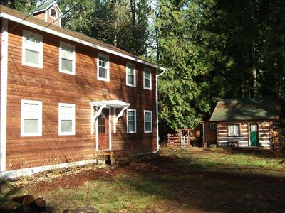 Brightwood house rental - Sleepy Hollow Schoolhouse and Cabin combo