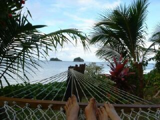 From the hammock to the beach
