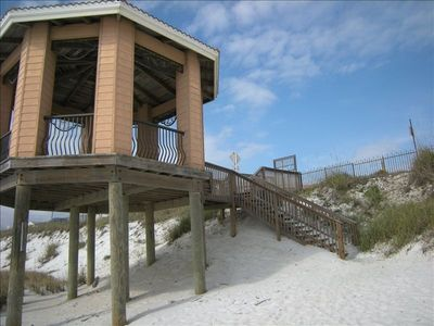 Gazebo From Beach