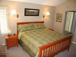 Master suite with Cal-King bed - Palm Desert condo vacation rental photo