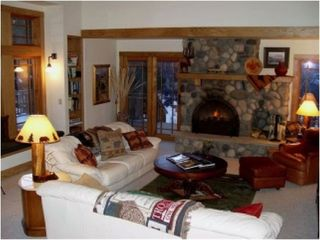 Yellowstone lodge photo - Great Room Fireplace