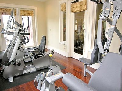 Gym inside Owners Lounge