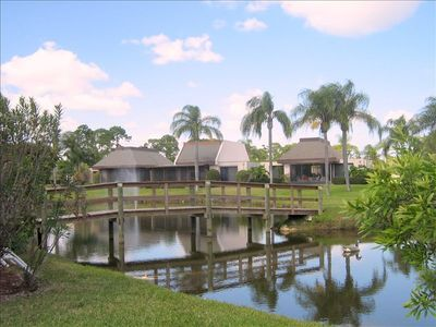 Beautiful Tropical Caribbean grounds surrounded by water, Golf Courses, Club Med