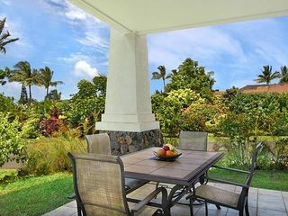 Princeville condo photo - Beautiful Lanai