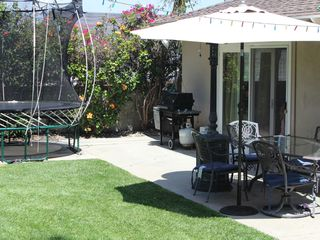 Redondo Beach house photo - The back yard is perfect for your morning coffee or a barbecue after the beach.