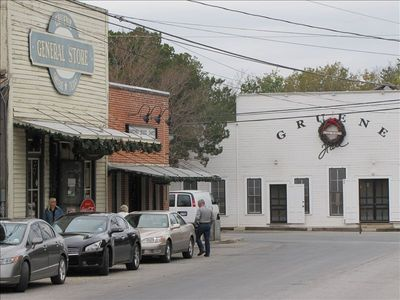 Shop in nearby Gruene and dance at Gruene Hall!