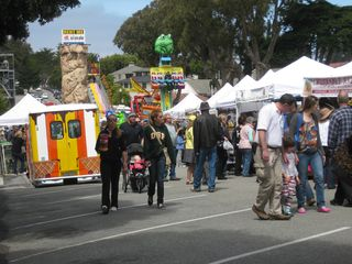 Pacific Grove cottage photo - Good Old Days - carnival rides for kids