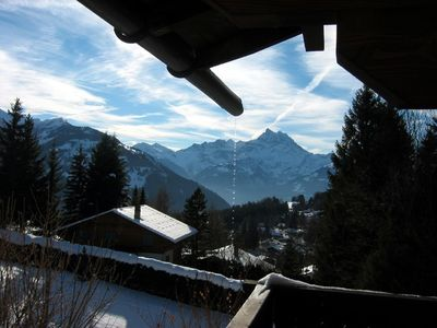 Villars-sur-Ollon chalet rental - Chalet La Grand Ourse- Winter