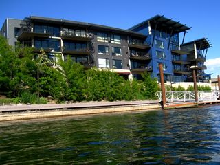 Coeur d 'Alene condo photo - See eagles and ospreys fishing for dinner in the crystal clear river.