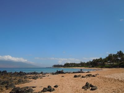 Keawakapu Beach looking towards Kihei