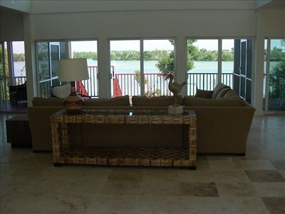 Living Room overlooking Roosevelt Channel