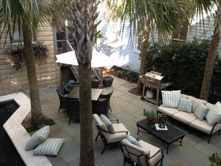Savannah house photo - View of courtyard from carriage house
