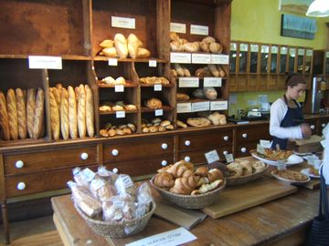 La Rumeur Affamee in Sutton. gourmet baked goods, cheese, oils & vinegars