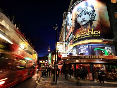 London Theatreland is right outside your door - see a Matinee or an Evening show