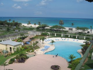 Aruba condo photo - One of four beautiful swimming pools in the resort