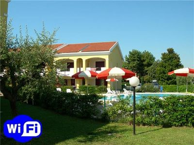Apartment for 8 people, with swimming pool, in Bibione