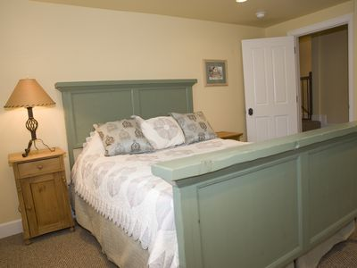 Kamas house rental - The Green Room!