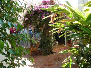 San Diego apartment rental - Out side patio