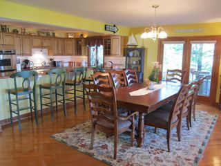 Dining Area - Saugatuck / Douglas townhome vacation rental photo