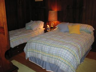 2nd Bedroom with double and twin beds - Bolton Landing house vacation rental photo