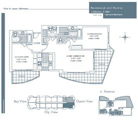 Sunny Isle condo photo - Floor Plan