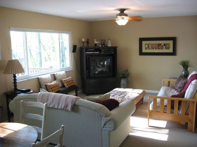 Gaylord cottage rental - Family Room