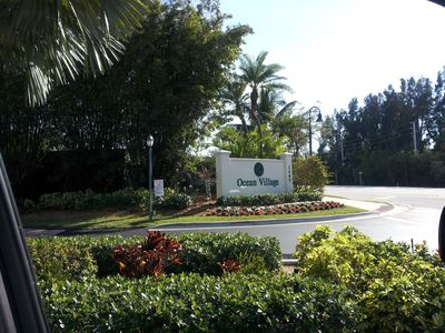 Entrance to Ocean Village