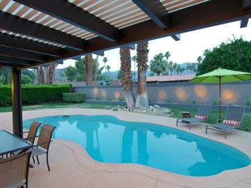 Cathedral City house rental - Covered Patio With Outdoor Dining