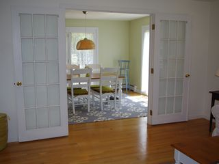 Mashpee house photo - Open dining area