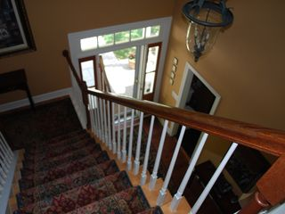Oconomowoc house photo - The foyer and grand entrance way